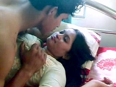 Indian Carnal knowledge Indian-Sex Couple Foreplay Kissing