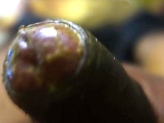 Beautiful Youthful Shows Black Cock