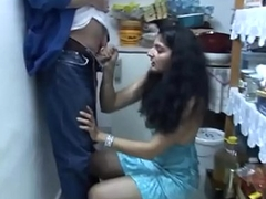 Indian girl sucking hot