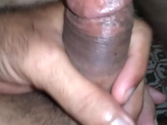 Indian guy in New York wanking for his GF