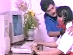 Indian Girl mallu with Computer Teacher south desi