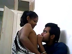 Indian College Couple Fucking Mainly A Web camera