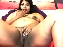 NRI cute Indian girl fat