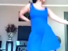 Upskirt Girl in dance