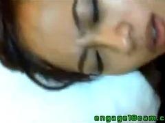 Asian beauty having full orgasm- indian cute girl