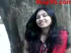 Indian college clip kiss outdoor