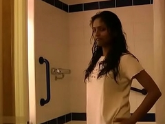 Indian College Girl Divya Taking Shower Fingering Will not hear of Firsthand Pussy