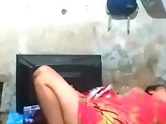 Bangladeshi Filly Aunty Hidden Cam Snoop Sleeping Video