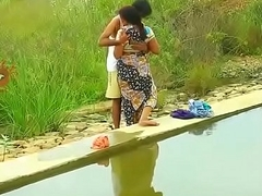 Hot mallu aunty knockers desirous of outdoor