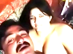 Gasti aunty captured naked away from uncle on kotha