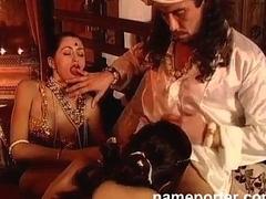 Dispirit kamasutra--erotic french threesome scene