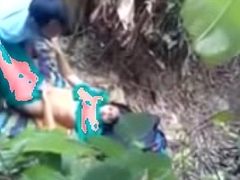 Open-air Sex With Indian Girlfreind