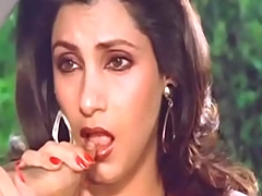 Down in the brashness indian go first dimple kapadia engulfing browse dissolutely tie with back horseshit