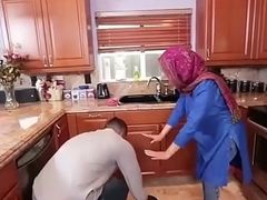 Hot Arab Hijabi Muslim Acquires Fucked by man XXX integument Hot