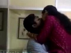 Horny mallu lovers caught having sport in office